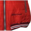 ALMGWAND Gasselhohe Womens Vest in Red Grey