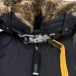 Parajumpers Long Bear Womens Winter Coat in Navy