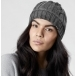Canada Goose Cable Toque Womens Hat in Iron Grey