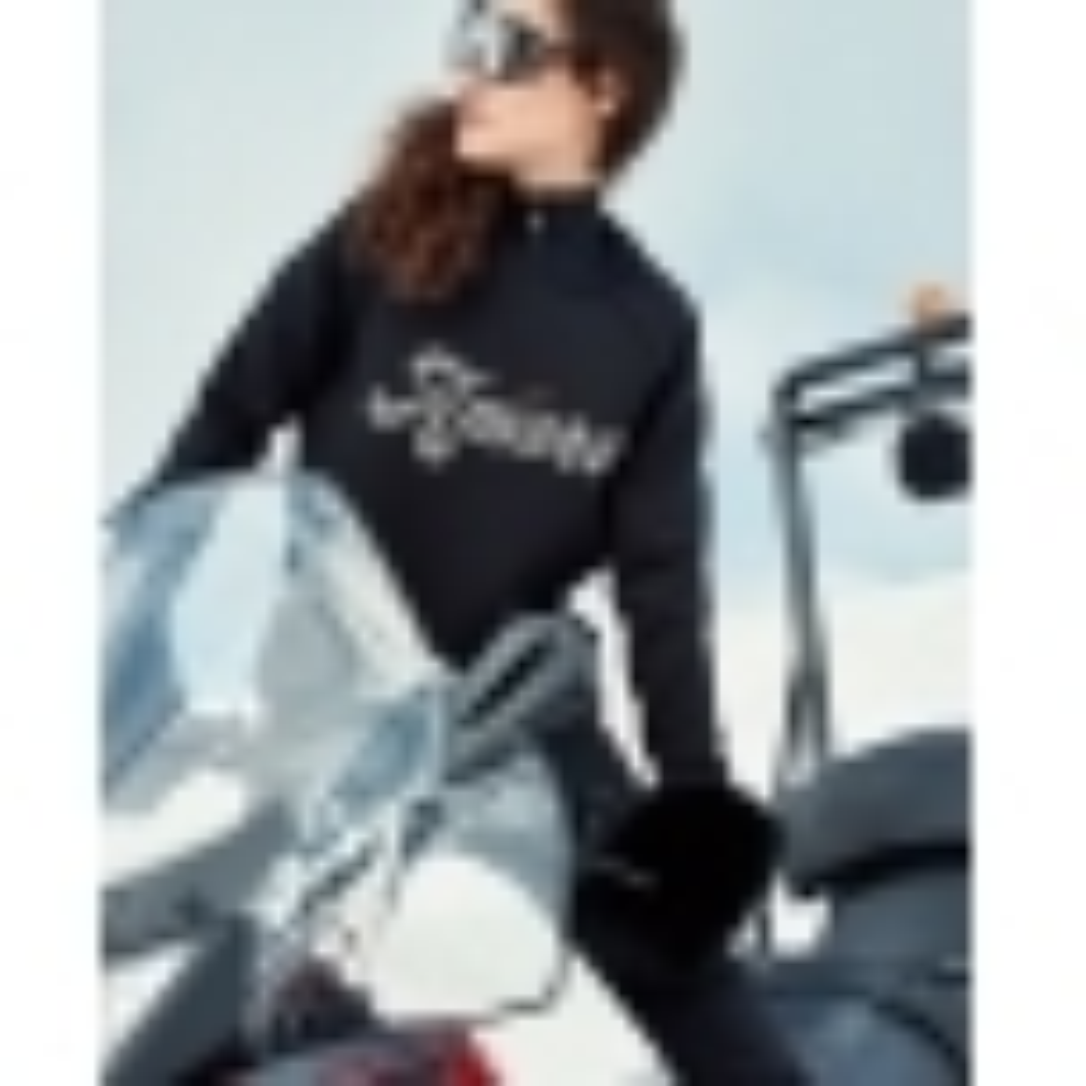 GOLDBERGH Amore Womens Apres Sweater in Black