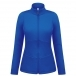 Poivre Blanc Blair Womens Stretch Fleece Midlayer in True Blue