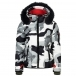 Bogner Giana D Womens Jacket in Black Grey Camo