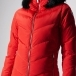 FUSALP Davai Womens Ski Jacket in Red
