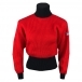 Fusalp Muzelle Womens Roll Neck Top in Red and Black