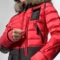 PARAJUMPERS Skimaster Womens Ski Jacket in Dark Red