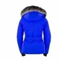 POIVRE BLANC Beth Womens Jacket in True Blue
