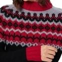BOGNER Demi Jumper in Black/Red/Grey