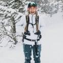 AMUNDSEN Womens Peak Anorak in White