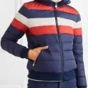PERFECT MOMENT Queenie Ski Jacket in Navy Rainbow