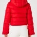 PERFECT MOMENT Polar Flare Ski Jacket in Red
