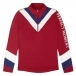 PERFECT MOMENT Chevron Thermal 1/2 Zip Top in Red