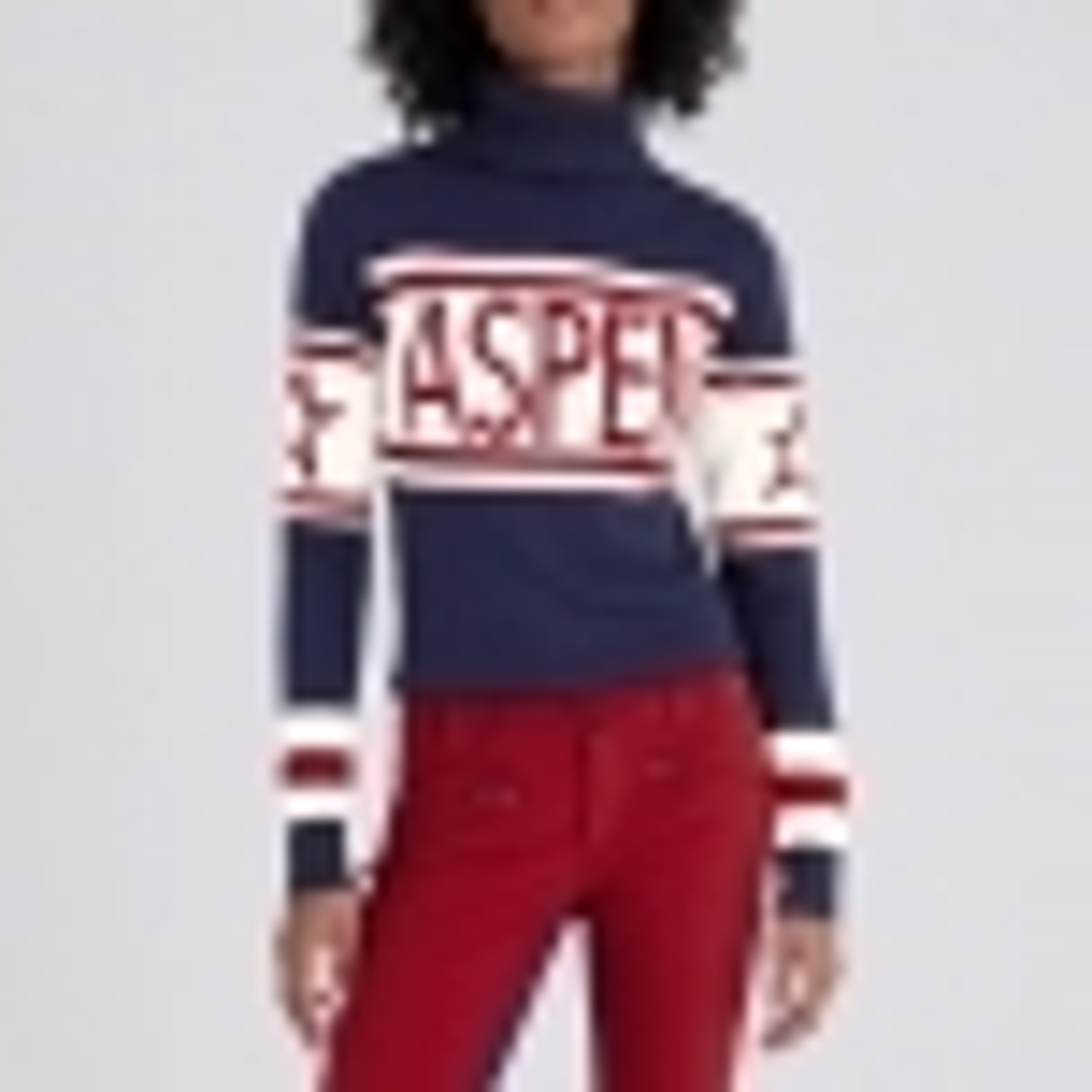 PERFECT MOMENT Schild Sweater Aspen in Navy