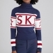 PERFECT MOMENT Schild Sweater in Navy