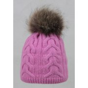 Steffner Cindy-FL-Pel-M Womens Ski Hat In Pink