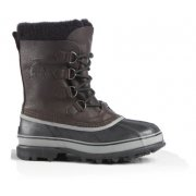 Sorel Caribou Wool Mens Winter Boot in Black