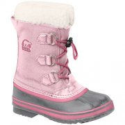 Sorel Yoot Pac Nylon Kids Snow Boot in Conch Pink