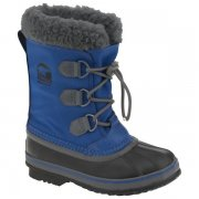 Sorel Yoot Pac Nylon Kids Snow Boot In Nautical Blue