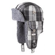 Barts Billy Bomber Kids Ski Hat in Grey