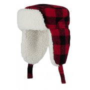 Barts Loggy Bomber Ski Hat in Red