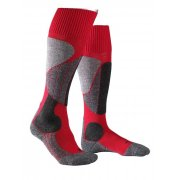 Falke SK2 Mens Ski Socks In Lipstick Red