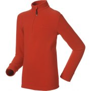 Oldo Isola 1/2 Zip Kids Fleece in Formula One Red