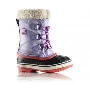Sorel Yoot Pac Nylon Kids Snow Boot In Whitened Violet