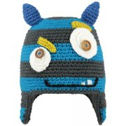 Barts Monster Beanie Kids Ski Hat in Blue