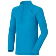 Odlo Warm Kid Longsleeve Ski Thermal Top in Vivid Blue