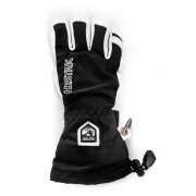 Hestra Army Leather Heli Junior Ski Glove in Black