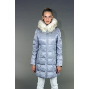 Bogner Ann D Womens Ski Coat in Metallic Grey