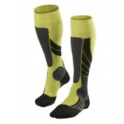 Falke SK2 Mens Ski Socks in Lime
