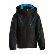 Descente Korea WC Junior Ski Jacket in Black