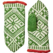 Hestra Nordic Wool Mitt in Green