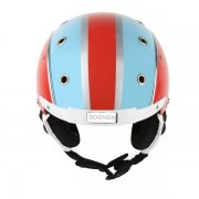 Bogner Ski Helmet Racing Red-Blue