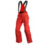 Descente Carve Junior Ski Pant in Electric Red