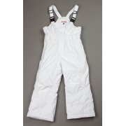 Poivre Blanc Girls Bib Pants in White