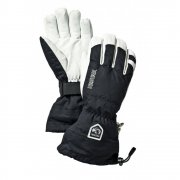 Hestra Mens Army Leather Heli Ski Glove in Black