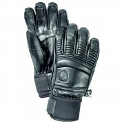 Hestra Mens Leather Fall Line Ski Glove in Black