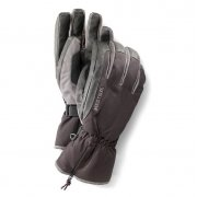 Hestra C-Zone Leather Ski Glove in Black /Grey