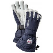 Hestra Mens Army Leather Heli Ski Glove in Navy