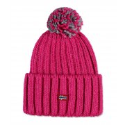 Napapijri Itang Womens Ski Hat in Hot Pink