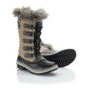 Sorel Tofino Cate Winter Boot in Twill and Black