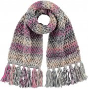Barts Nicole Scarf in Heather Grey