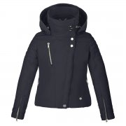 Poivre Blanc Girls Stretch Ski Jacket in Navy