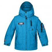Poivre Blanc Junior Boys Ski Jacket in Caraibes Blue