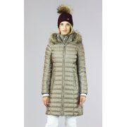 Bogner Lilia D Womens Winter Coat in Champagne