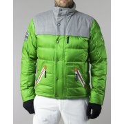 Bogner Marco D Mens Ski Jacket in Green/Grey