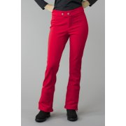 Bogner Emilia Long Leg Fitted Ski Pant in Red