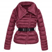 Poivre Blanc Womens Perfecto Down Jacket in Red
