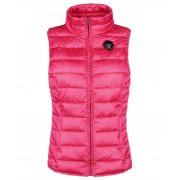 Napapijri Arva sleeveless Puffer Ski Vest in Hot Pink